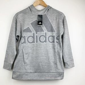ADIDAS French Terry Badge Of Sport Girls Hoodie M